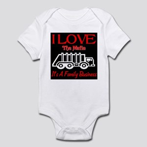 I Love The Mafia Infant Bodysuit