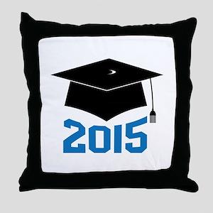 2015 Graduate Throw Pillow