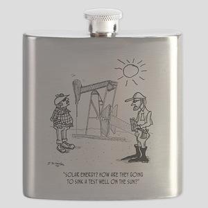 Solar Cartoon 1651 Flask