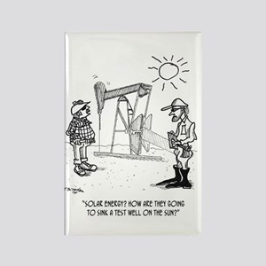 Solar Cartoon 1651 Rectangle Magnet