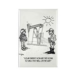 Solar Cartoon 1651 Rectangle Magnet (10 pack)