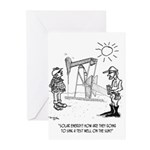 Solar Cartoon 1651 Greeting Cards (Pk of 10)