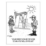Solar Cartoon 1651 Small Poster