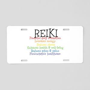 REIKI Aluminum License Plate