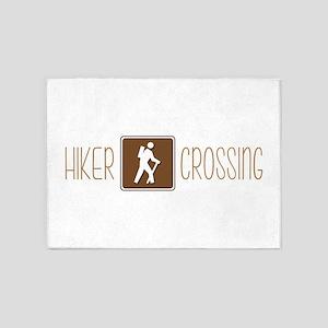 Hiker Crossing 5'x7'Area Rug