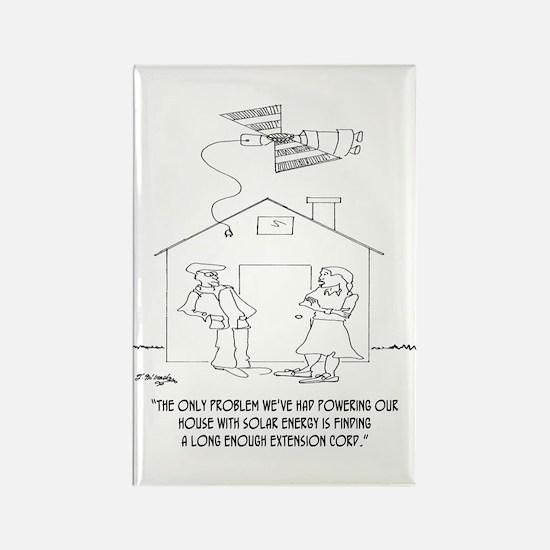 Solar Cartoon 0521 Rectangle Magnet