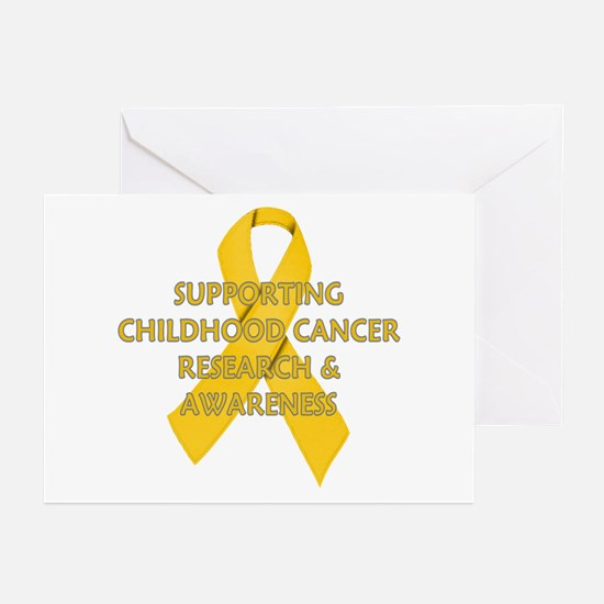 ...Childhood Cancer... Greeting Cards (Pk of 10)