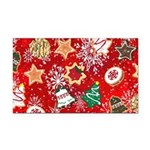 Christmas Cookies Rectangle Car Magnet