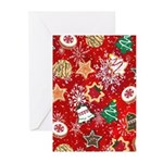 Christmas Cookies Greeting Cards