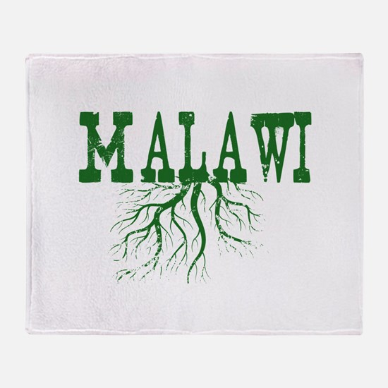 Malawi Roots Throw Blanket