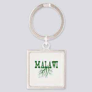 Malawi Roots Square Keychain