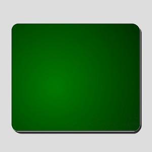 Hunter Green gradient Mousepad