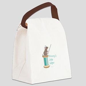 Mommys Little Helper Canvas Lunch Bag