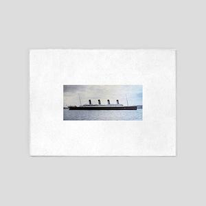 Titanic 5'x7'Area Rug