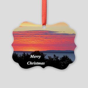 Sunrise Lake Superior Ornament