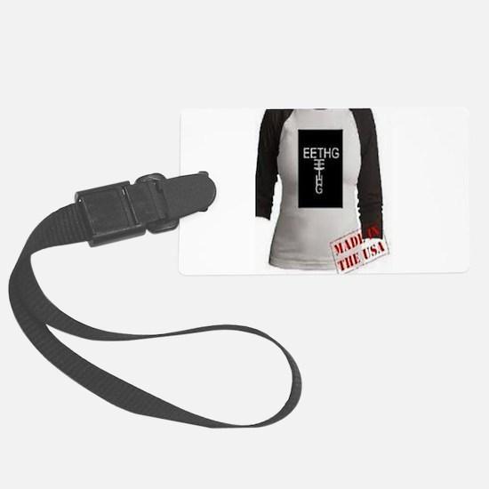 #eethg shirt in shirt Luggage Tag
