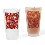 Christmas Cookies Drinking Glass