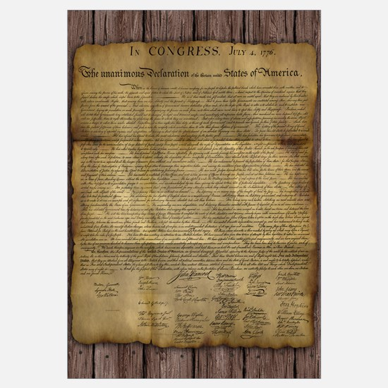 The Declaration Of Independence Wall Art