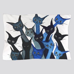 Escondido Stray Cats Pillow Case