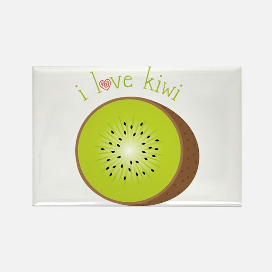 I Love Kiwi Magnets