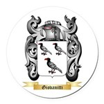 Giovanitti Round Car Magnet