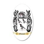 Giovani 20x12 Oval Wall Decal