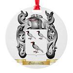 Giovanetti Round Ornament