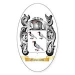 Giovanetti Sticker (Oval 50 pk)