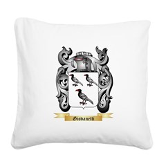 Giovanetti Square Canvas Pillow