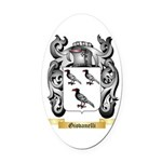 Giovanelli Oval Car Magnet