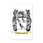 Giovanelli 20x12 Wall Decal