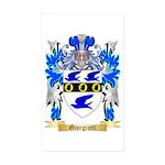 Giorgiutti Sticker (Rectangle 50 pk)
