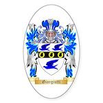 Giorgiutti Sticker (Oval 50 pk)