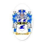 Giorgione Oval Car Magnet