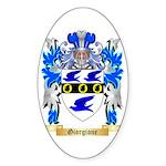 Giorgione Sticker (Oval 10 pk)