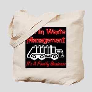 I'm In Waste Management Tote Bag
