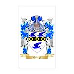 Giorgi Sticker (Rectangle 50 pk)