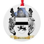 Giordano Round Ornament
