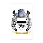 Giordano Sticker (Rectangle 50 pk)