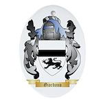 Giordano Ornament (Oval)