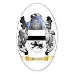 Giordan Sticker (Oval 50 pk)