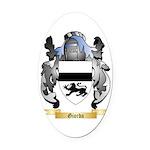 Giorda Oval Car Magnet