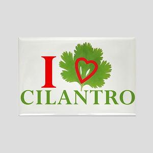 I Love Cilantro Magnets