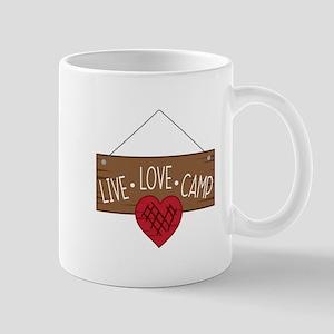 Live Love Camping Mugs
