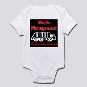 Waste Management It's A Famil Infant Bodysuit