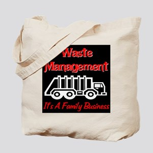 Waste Management It's A Famil Tote Bag