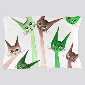 16th St Stray Cats Pillow Case