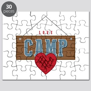 Love Camping Puzzle