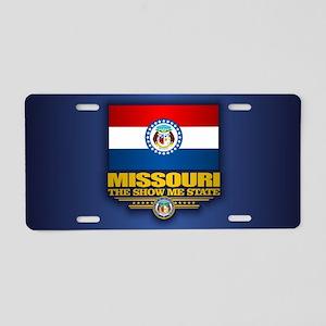 Missouri (v15) Aluminum License Plate