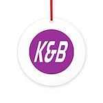 K&B Drugs Ornament (Round)